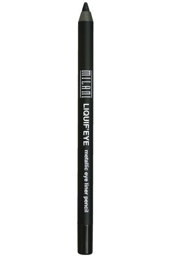 Mass Appeal:10 Drugstore Beauty Buys That Rival The Spendies  #refinery29  http://www.refinery29.com/18955#slide5   Whether you're going for a smudged look or a precise line, this product goes on smooth and stays put—for less than $7. Milani Liquif'Eye Metallic Eyeliner, $6.49, available at Walgreen's.