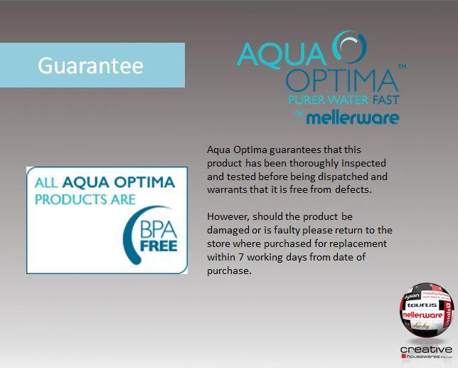 Aqua Guarantee
