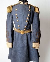 General P.T.G. Beauregard's frock coat at the Louisiana Civil War Museum in New Orleans