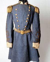 General P.T.G. Beauregard's frock coat at the Louisiana Civil War Museum in New Orleans