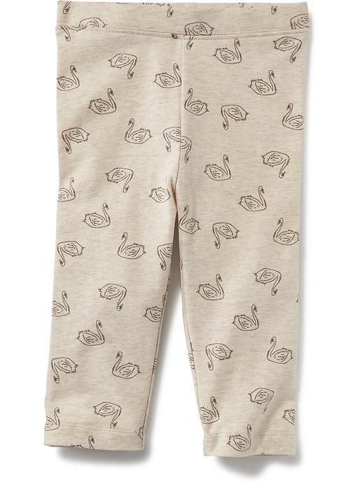 Printed Cropped Leggings for Baby Product Image