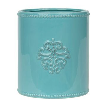 Utensil Holder Turquoise And Products On Pinterest