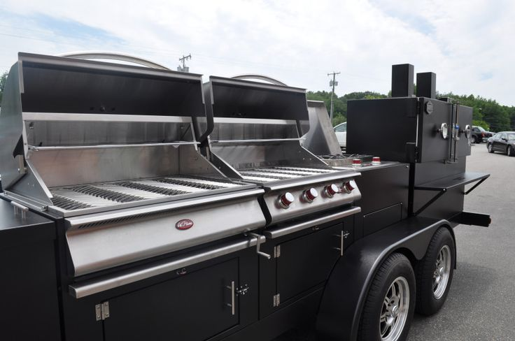 Custom Trailers Gallery Myron Mixon Smokers Barbecue