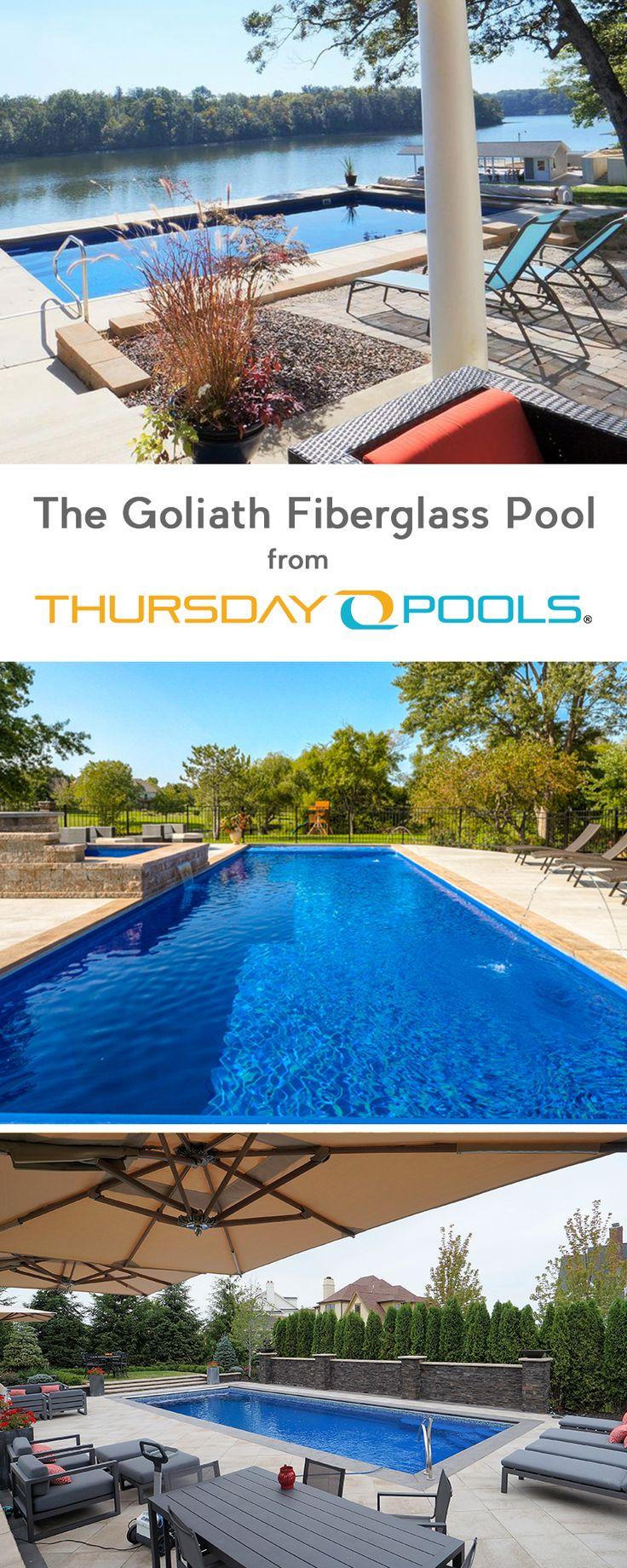 Jacksonville fl in addition fiberglass pools jacksonville fl on home - Checkout The Goliath Fiberglass Pool From Thursday Pools