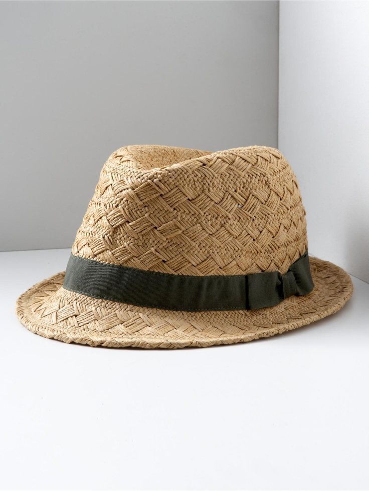 I am determined to find a fedora that I actually like. This one looks good so far... $39.50 at Banana Republic