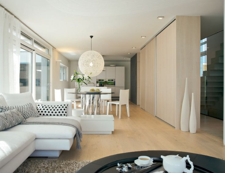 Offene küche esszimmer wohnzimmer ~ Wohnzimmer mit offener küche ...