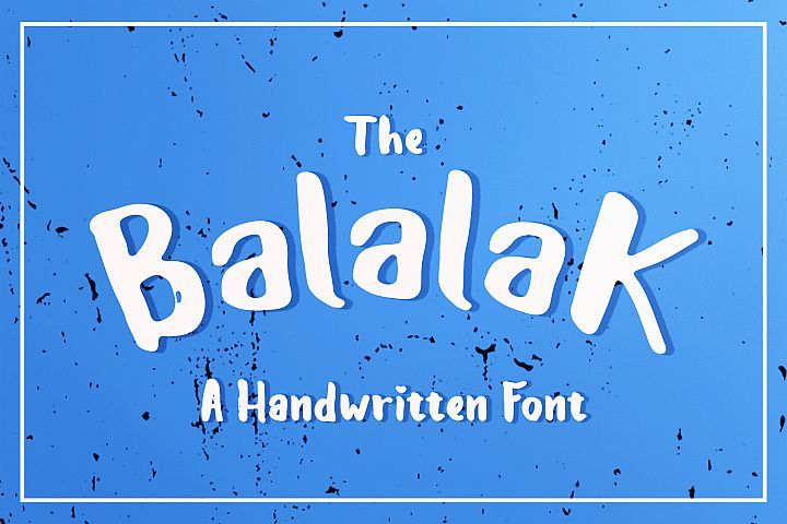 The Balalak Font ( 5 Style )