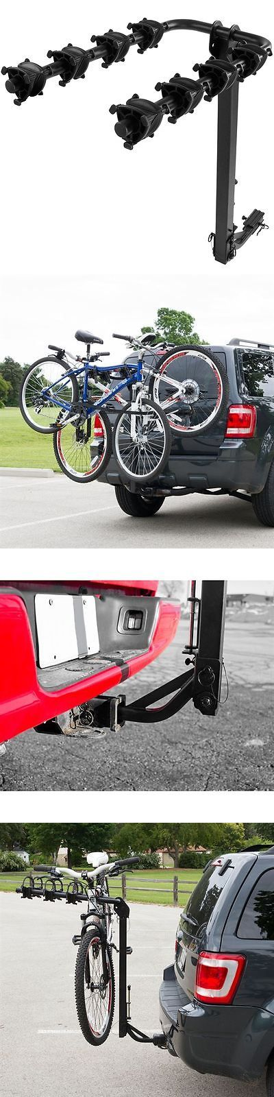 Car and Truck Racks 177849: 4-Bike Hitch Mounted Bike Carrier Rack Class Ii, Iii, Iv -> BUY IT NOW ONLY: $114.99 on eBay!