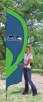 Seattle Seahawks Team Pole Flag