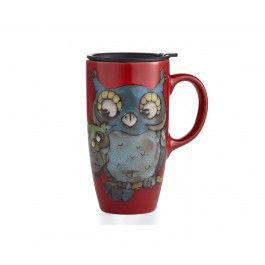 Tasse de voyage Glazed Owl