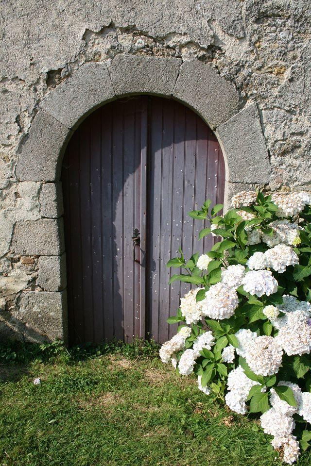 Oude franse deur..
