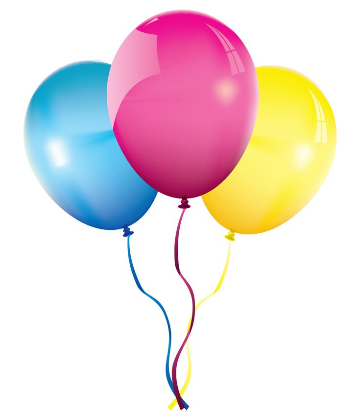 Birthday Balloons Clip Art Free: Birthday Balloons 13550showing.png