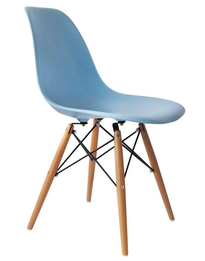 Replica Eames DSW Chair – Light Blue
