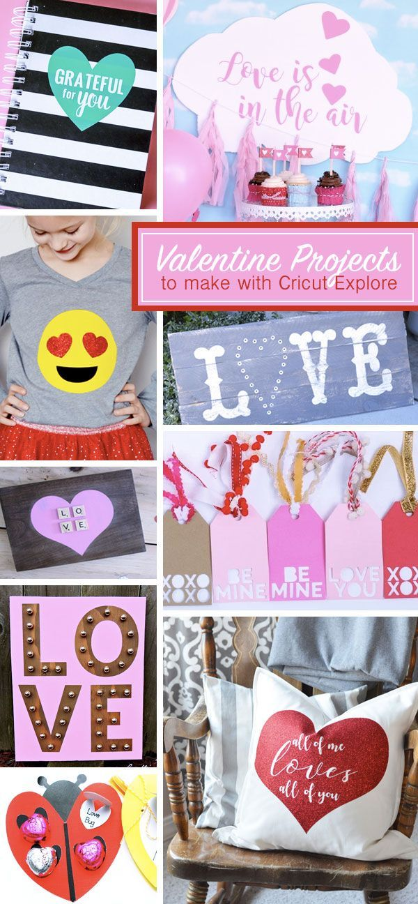 162 best Valentine\'s Day [Projects + Tutorials - Silhouette Cameo ...