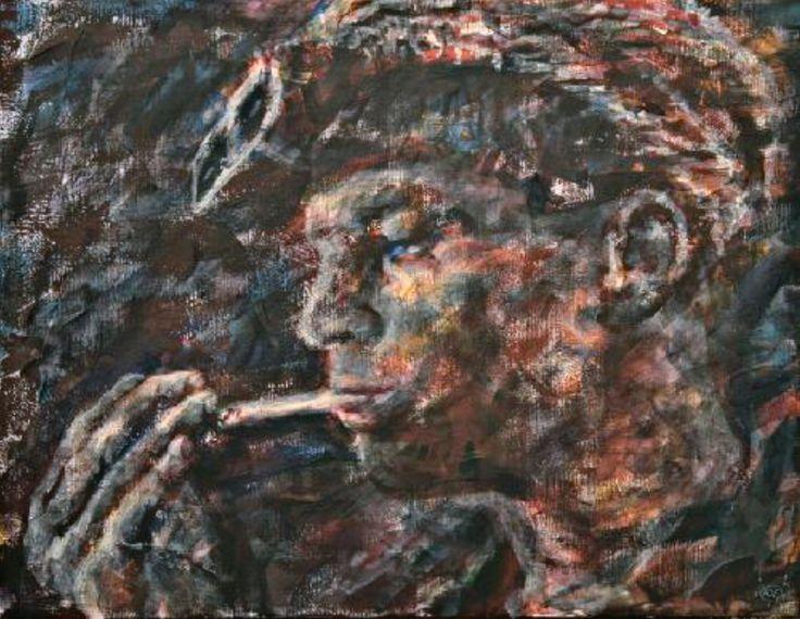 """Юрий Ермоленко, """"Запорожский Орел 1"""", (проект """"МЕТАФИЗИЧЕСКИЙ ПЕЙЗАЖ ЗАПОРОЖЬЯ"""", 10.10 - 22.10.2010, остров Хортица, пионерский лагерь """"Чайка"""") 2010, холст, акрил, 70х90см. #YuryErmolenko #еrmolenko #ЮрийЕрмоленко #ермоленко #yuryermolenko #юрийермоленко #юрийермоленкохудожник #юрiйєрмоленко #ЮрiйЄрмоленко #єрмоленко #rapanstudio #modernart #fineart #contemporaryart #painting #impressive #expressive #colorful #art #живопись #современноеискусство #искусство #zaporozhye #запорожье"""