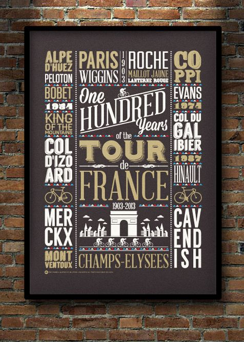 Cycling Plus Magazine Tour de France Coverby Neil Stevens Cycling Plus magazine got in touch to ask if I could create a cover for their fo...