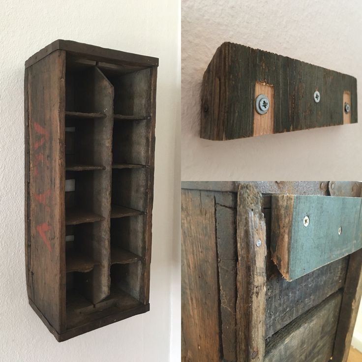 Old box for milk bottles. Now a bar for our rom.