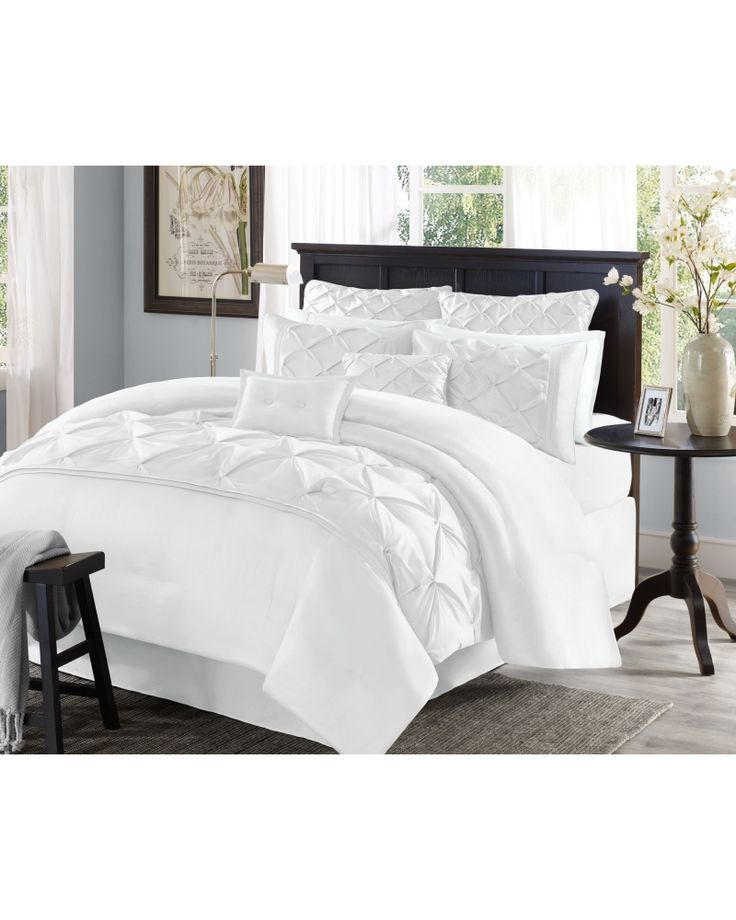 Six Piece Comforter Set Queen Main View Bedding