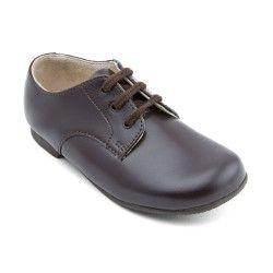 Boys School Shoes: Brown Leather Boys Lace-up Classic Shoes http://www.startriteshoes.com/boys-shoes/school-shoes