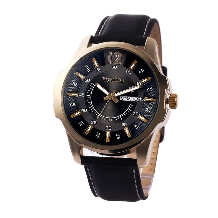 Multifunction leather fashion watch/Waterproof watch/Male quartz watch/Watch/Men's Watch-B: Amazon.ca: Watches