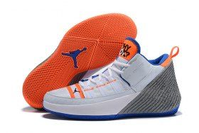 big sale 158d2 a1375 Air Jordan Why Not Zer0. 2 White Blue Orange Cool Grey AA2510-112 Mens  Basketball Shoes