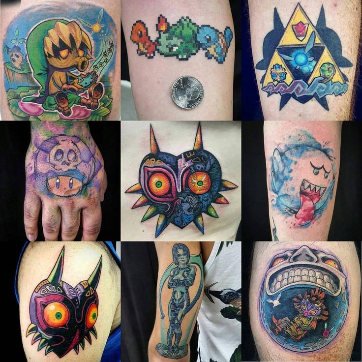Nintendo tattoos