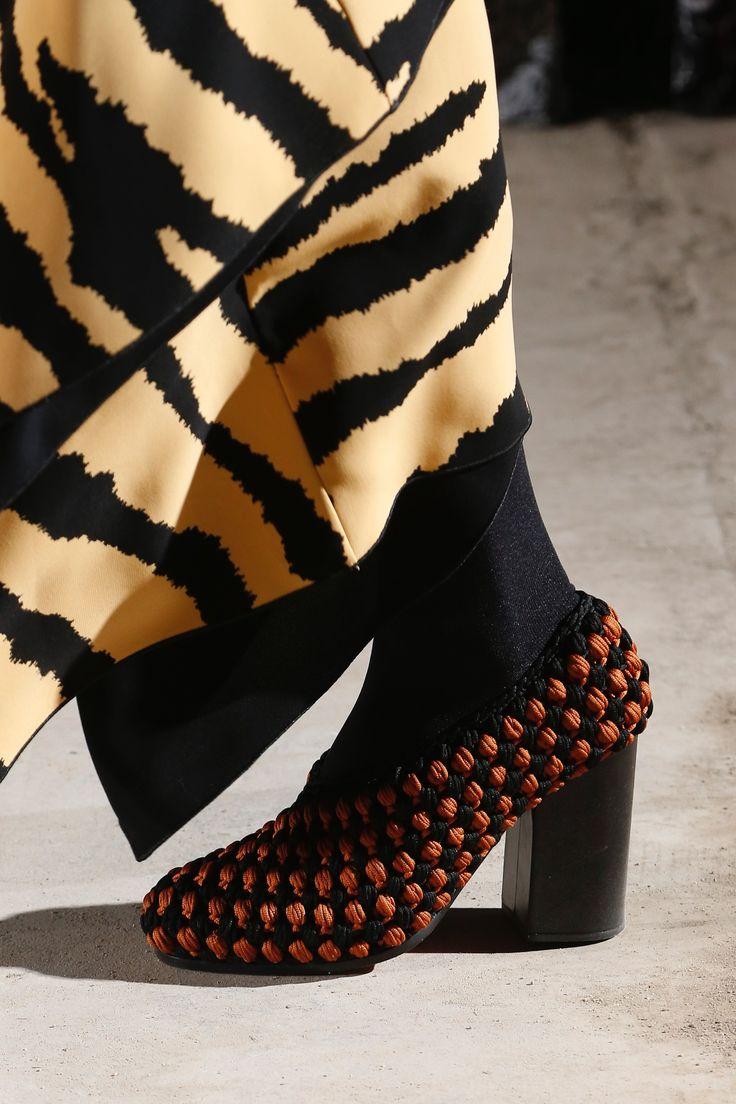 2018 stylish destroyed Prada Runway Show Patent 85 Heeled Sandal Womens Black Prada Womens Sandals