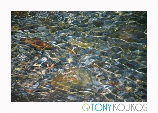 rock, petra, texture, mineral, stones, water, bed, light, pile, reflection