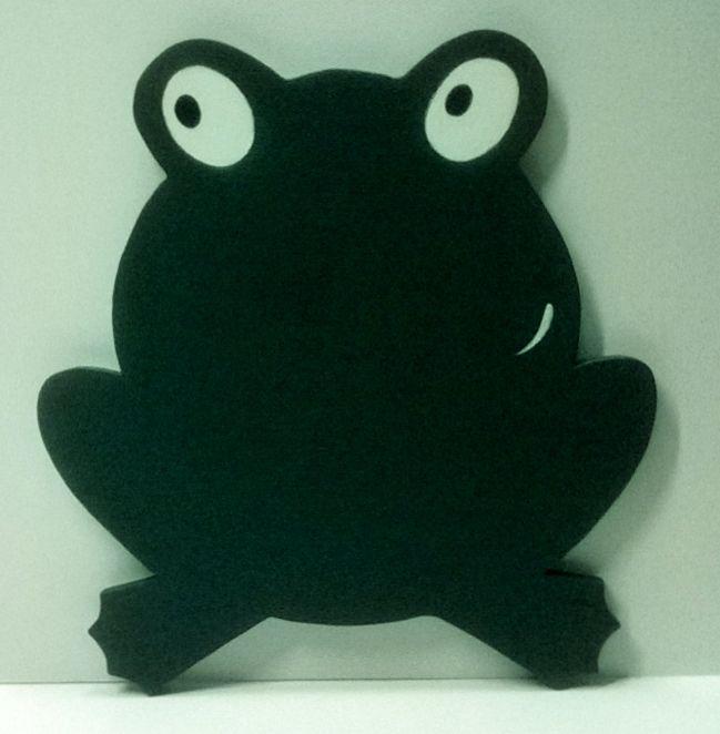 lavagna la rana verde da Legno Amore Mio artigianato