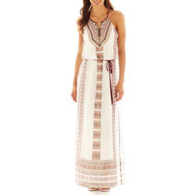 33117330a202 Bisou Bisou® V-Neck Halter Dress found at  JCPenney