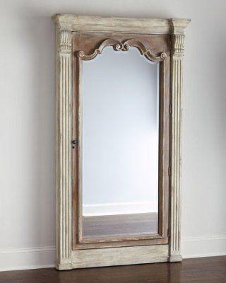 Storage Mirror, Jewelry Storage, Jewelry Box, Wall Mirrors, Mirror Mirror,  Hooker Furniture, Furniture Ideas, Jewelry Accessories, Cat Cat