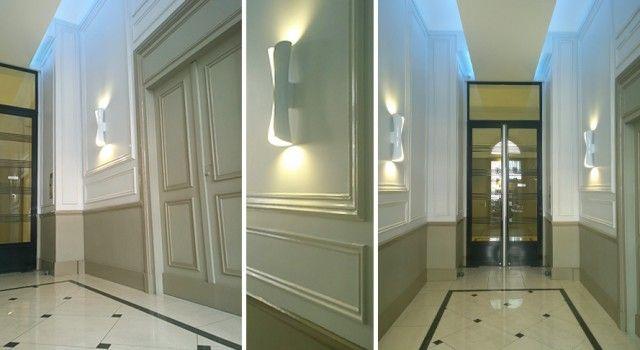 Architecte D Interieur Parties Communes Immeuble Art Deco Paris 8e