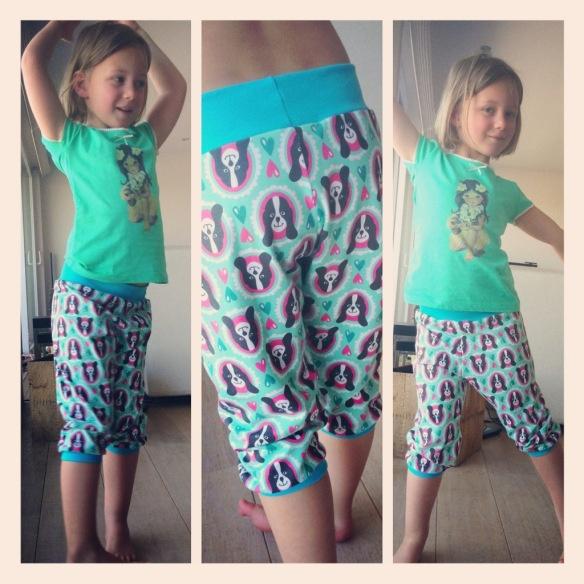 Playing pants tutorial! Thanks Fem for inspiration! Zelf naaien :-)