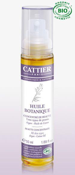 Cattier-produit bio- #huilebotanique
