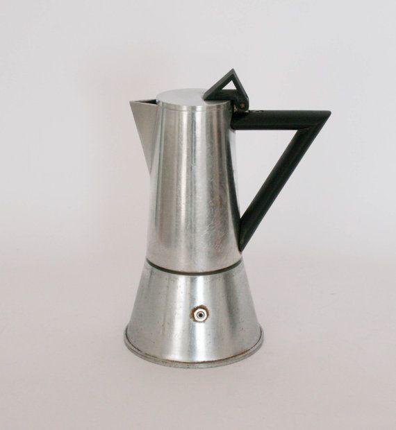 Lagostina Vintage Italian Coffee Maker / Coffee Pot by DoubleRandC