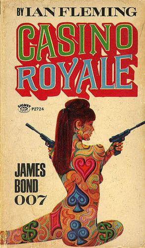 Check out Pete's review of Ian Fleming's Casino Royale here: http://chaptersandscenes.wordpress.com/2014/03/22/pete-reviews-casino-royale/