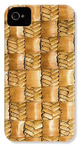 Flax IPhone 4 / 4s Case featuring the photograph Weaving Flax - Gold by Wairua o te Moana