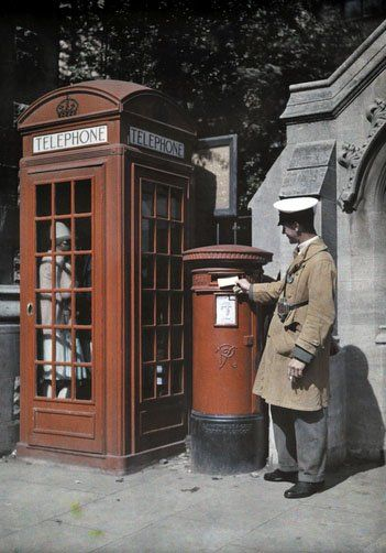 vintage everyday: Old England in Color Photos from 1928