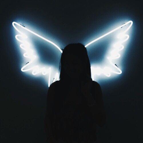 Imagem de angel, wings, and light