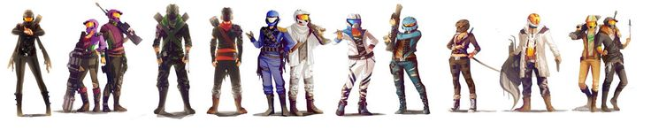 The Soldier (Tex), The Twins (South, North), Mercenaries (Locus, Felix), The Informant (Florida) & The Hunter (Wyoming), 479 (479er), Number One (Carolina), CT (Connie), The Meta (Maine), The Theif (York) & Recovery (Wash) by synnesai