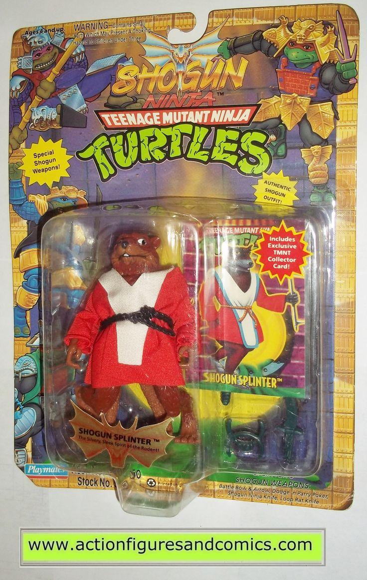 teenage mutant ninja turtles SPLINTER SHOGUN 1994 vintage playmates toys mib moc mip tmnt #711