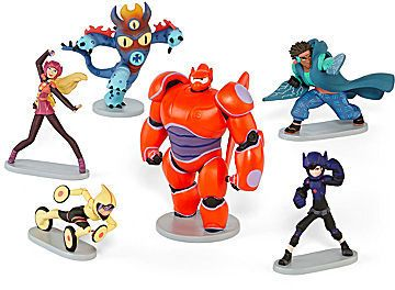 Disney Collection Big Hero 6 Figurine Set. Help your little superhero save the day with these posable figurines.