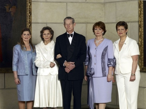 Romania's  Princess Maria, Queen Anne, King Michael, Crown Princess Margarita, Princess Irina
