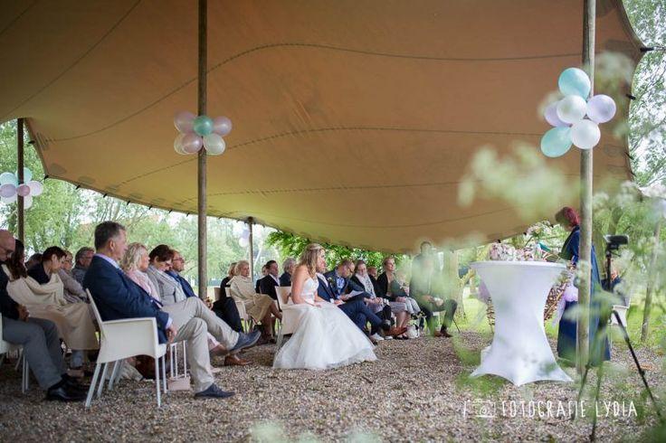 Trouwlocatie / ceremonieplaats buiten in de openlucht @ Natuurlijk Kollumeroord