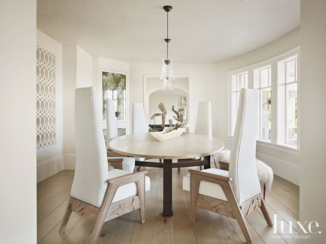 53 best ch dining rooms images on pinterest dining for Best transitional dining rooms