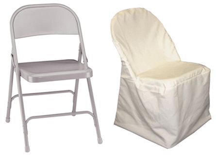cheap used metal folding chairs black bulk ivory chair cover ruffled cheapest
