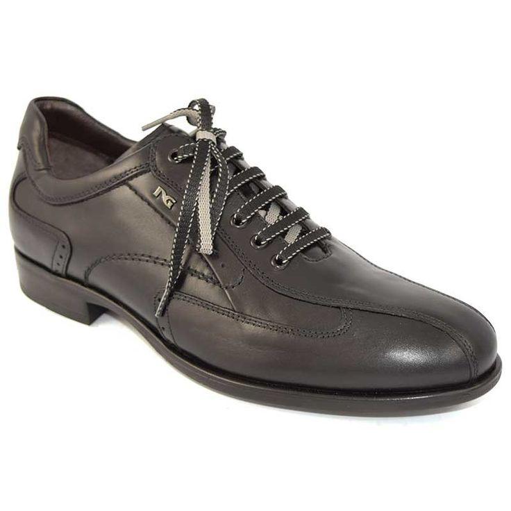 Nero Giardini zapatos Hombre con cordones A402791U Negro