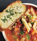 soup...Minestrone Soup, Italian Dinner, Garlic Breads, Rachel Ray, Breads Croutons, Soup Recipe, Tomatoes Minestrone, Rachael Ray, Food Recipe