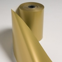Plain Gold Jeweller Giftwrap