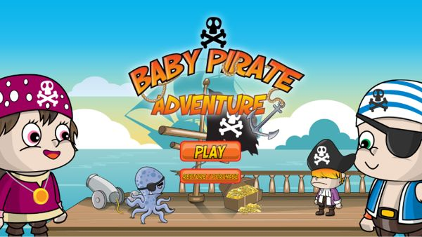 iOS Endless Running Game : Baby Pirate Adventure on Behance